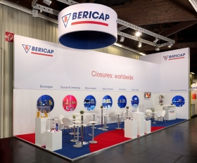 BERICAP exhibition stand sample 2018